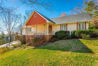 Lookout Mountain Single Family Home For Sale: 422 Fort Trace Rd