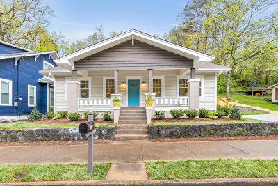 Chattanooga Single Family Home For Sale: 1110 Dartmouth St