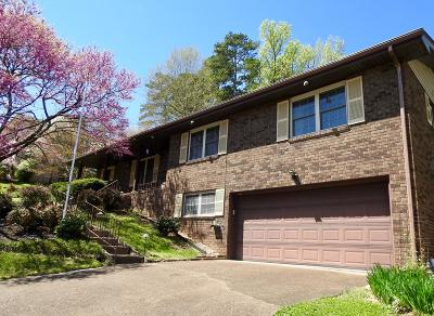 Chattanooga Single Family Home Contingent: 1205 Forest Green Dr