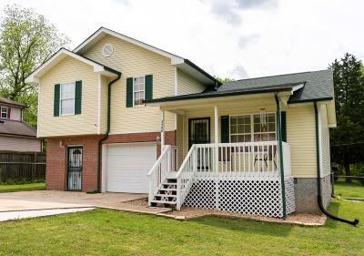 Chattanooga Single Family Home Contingent: 3400 Plumwood Rd
