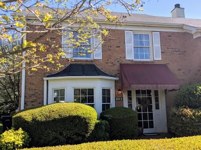 Chattanooga Townhouse For Sale: 6748 Hickory Manor Cir