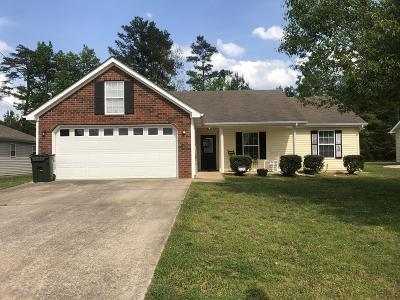 Fort Oglethorpe Single Family Home Contingent: 122 Colony Cir