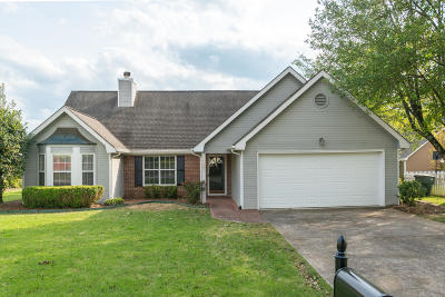 Chattanooga Single Family Home For Sale: 7602 Asherton Ln