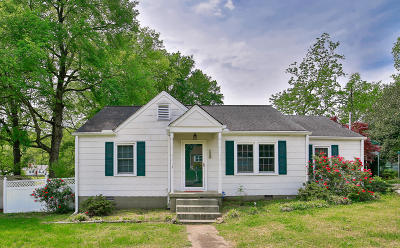 Chattanooga TN Single Family Home For Sale: $144,000