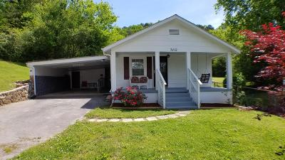 Chattanooga TN Single Family Home For Sale: $155,000