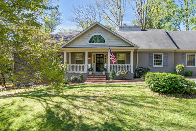 Lookout Mountain Single Family Home For Sale: 100 Dale Way
