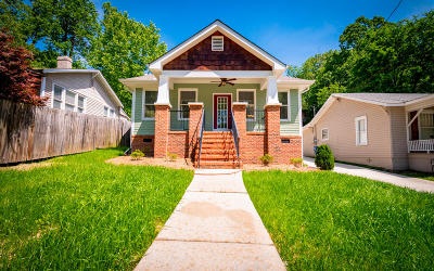 Chattanooga Single Family Home For Sale: 905 Federal St