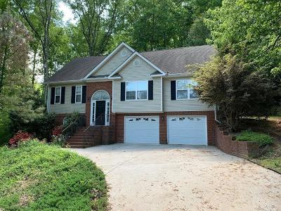 Chattanooga Single Family Home Contingent: 8743 Crestbrook Cir