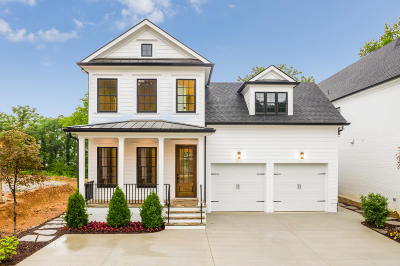 Chattanooga Single Family Home Contingent: 813 Franklin St #Lot 48