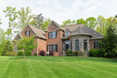 Signal Mountain Single Family Home For Sale: 3349 Cloudcrest Tr