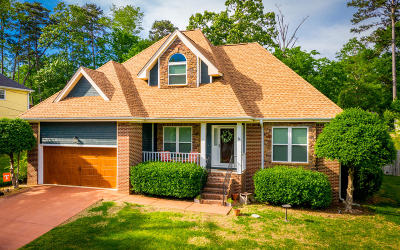 Soddy Daisy Single Family Home Contingent: 2319 Chimney Hills Dr