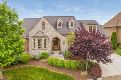 Chattanooga Single Family Home Contingent: 586 Hill Pointe Ln