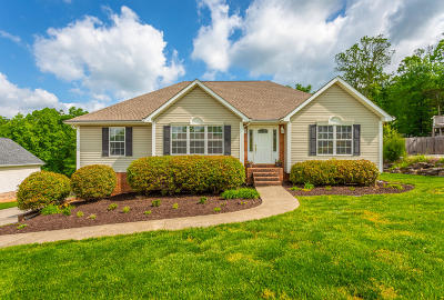 Ringgold Single Family Home Contingent: 335 Blue Heron Dr