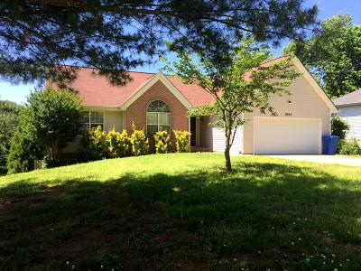 Ooltewah Single Family Home Contingent: 9754 Robinson Farm Rd