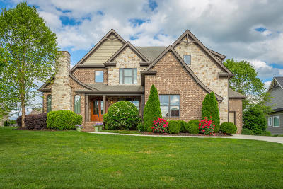Ooltewah Single Family Home Contingent: 8282 Georgetown Bay Dr