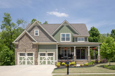 Ooltewah Single Family Home Contingent: 8679 Skybrook Dr