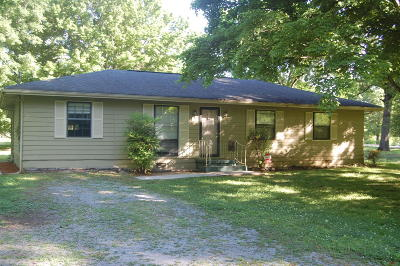 Chickamauga Single Family Home Contingent: 1940 S Hwy 341