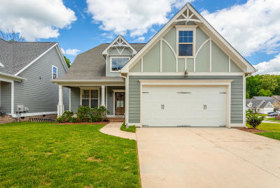 Ooltewah Single Family Home Contingent: 5478 Little Gem Ln