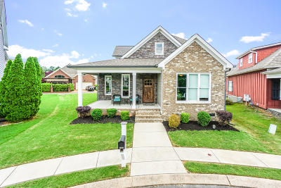 Ooltewah Single Family Home Contingent: 7588 Daybreak Cir #149