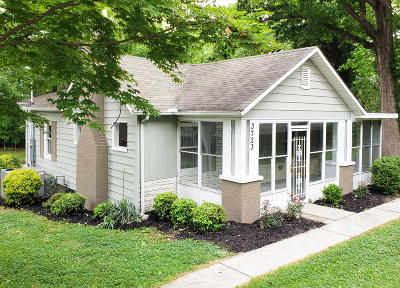 Chattanooga Single Family Home Contingent: 3723 Anderson Ave
