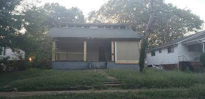 Chattanooga Multi Family Home For Sale: 1911 Huff Pl