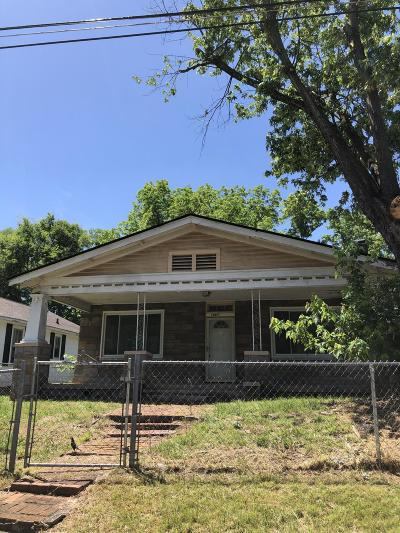 Chattanooga Single Family Home For Sale: 1900 E 25th Street Pl
