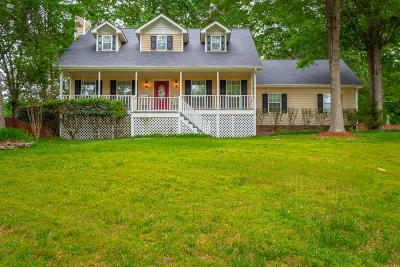 Ooltewah Single Family Home Contingent: 6825 Ridge Creek Dr