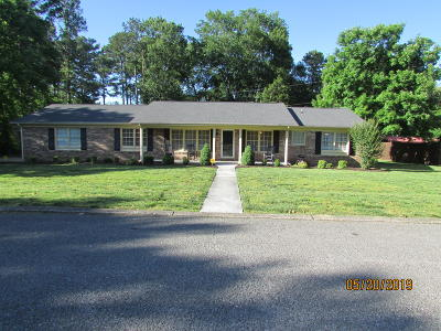 Chattanooga Single Family Home For Sale: 7452 Twin Brook Dr