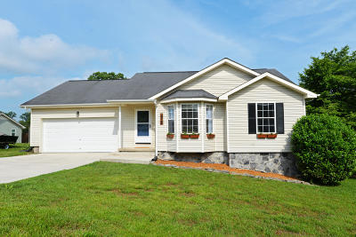 Soddy Daisy Single Family Home Contingent: 12433 Pendergrass Rd