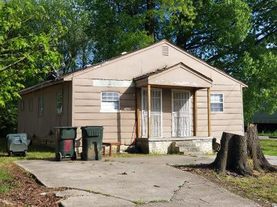 Chattanooga TN Multi Family Home For Sale: $59,900