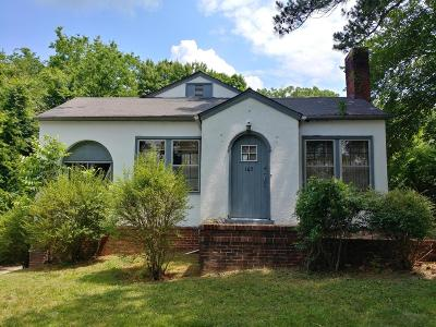 Chattanooga TN Single Family Home For Sale: $90,000