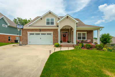 Ooltewah Single Family Home Contingent: 8086 Perfect Vw