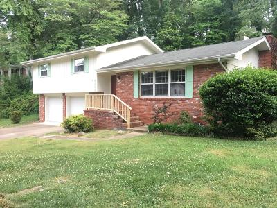 Hixson Single Family Home For Sale: 5806 Northwoods Dr