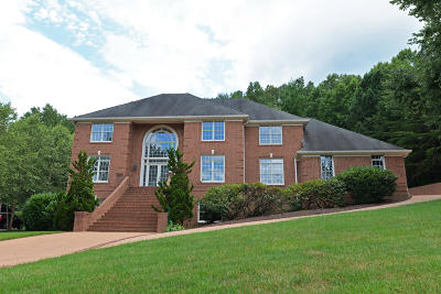 Signal Mountain Single Family Home For Sale: 18 Ridgerock Dr