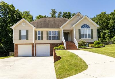 Ooltewah Single Family Home Contingent: 4752 Rose Briar Ln