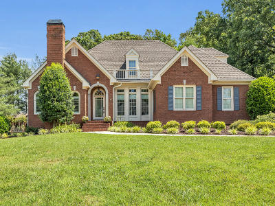 Ooltewah Single Family Home Contingent: 9916 Frost Creek Dr