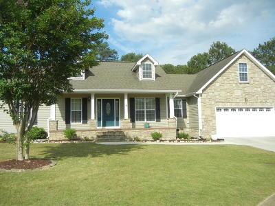 Chickamauga Single Family Home For Sale: 261 Haleys Cove Dr