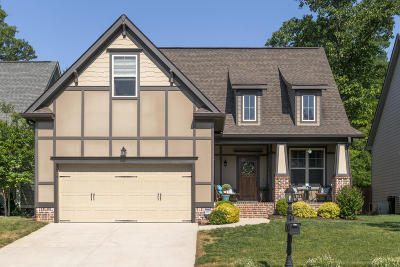 Ooltewah Single Family Home Contingent: 5485 Little Gem Ln