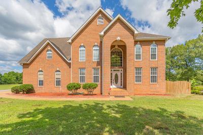 Ooltewah Single Family Home Contingent: 7921 Turtle Ln