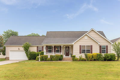 Ooltewah Single Family Home Contingent: 5729 Sunup Cir