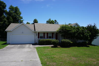 Ringgold Single Family Home Contingent: 152 N Brent Dr