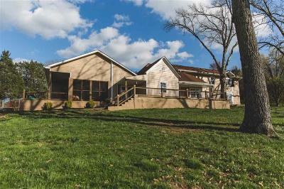 Ringgold Single Family Home For Sale: 1803 Burning Bush Rd