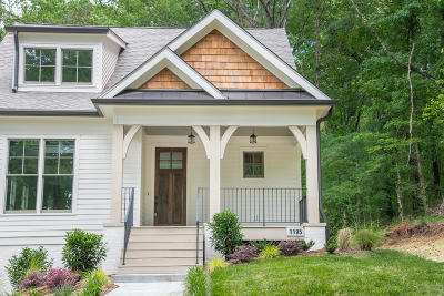 Chattanooga Single Family Home Contingent: 1195 W 46th St