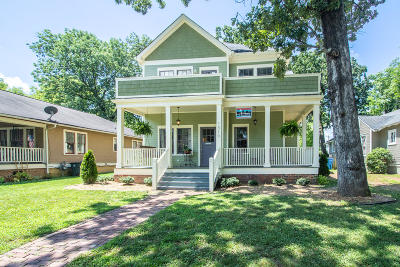 Chattanooga Single Family Home For Sale: 1510 Union Ave
