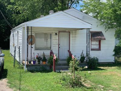 Chattanooga TN Single Family Home For Sale: $57,500