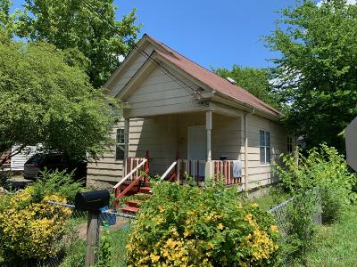 Chattanooga TN Single Family Home For Sale: $79,000