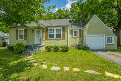 Chattanooga TN Single Family Home For Sale: $92,000
