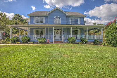 Signal Mountain Single Family Home For Sale: 1418 Walden Forest Rd