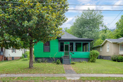 Chattanooga TN Single Family Home For Sale: $185,000