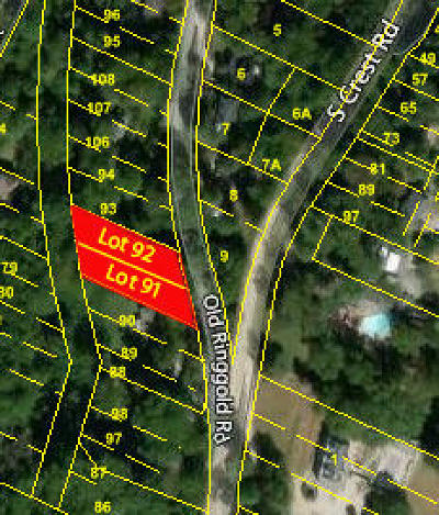 Chattanooga Residential Lots & Land For Sale: 1507 Old Ringgold Rd #91 & 92